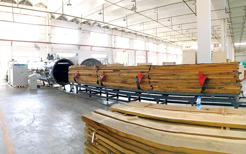 HF(RF) Vacuum Timber Dryer