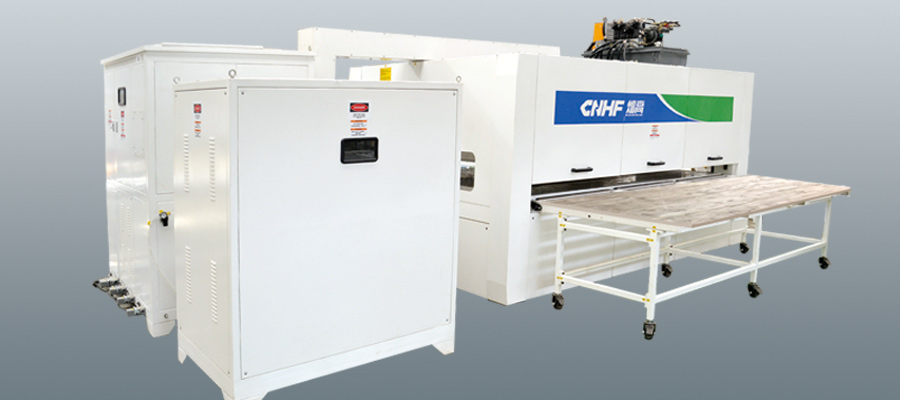 HF(RF) Transverse Joining Machine For Wooden Board