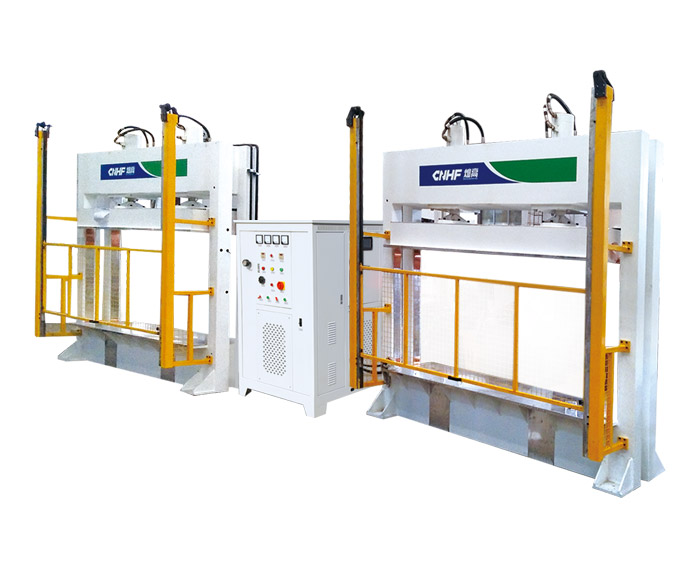 One-drive-two HF(RF) Hot Press Machine For Wood Bengding & Forming(One-direction)