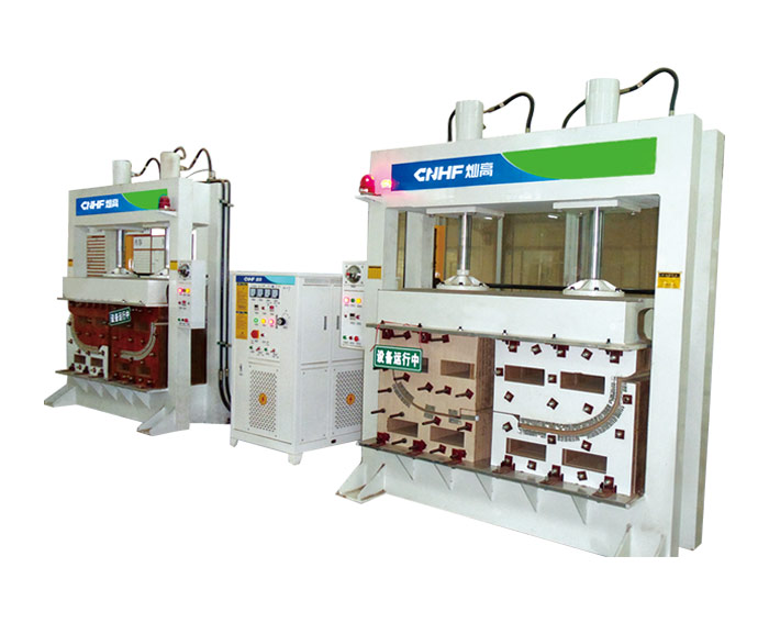 One-drive-two HF(RF) Hot Press Machine For Wood Bengding & Forming(One-direction) 2
