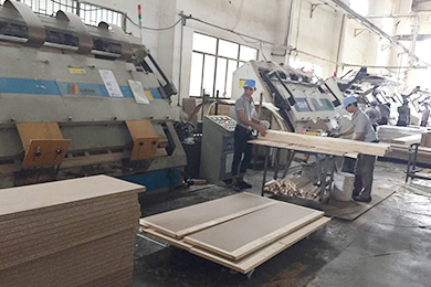 HF board joining and frame joining machine scene in Vietnam