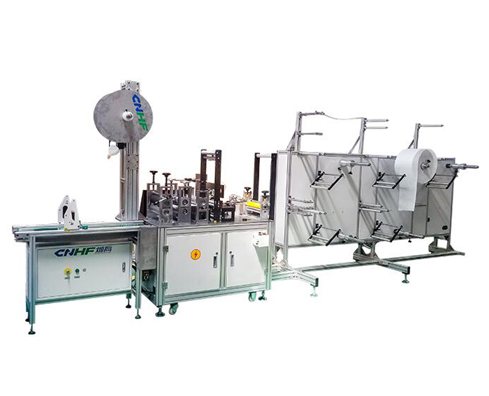 KN95(N95) Ear Loop Welding Mask Stringing Machine