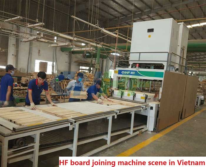 HF(RF) Vertically Lifting Joining Machine For Wooden Board ( Crawler Type )